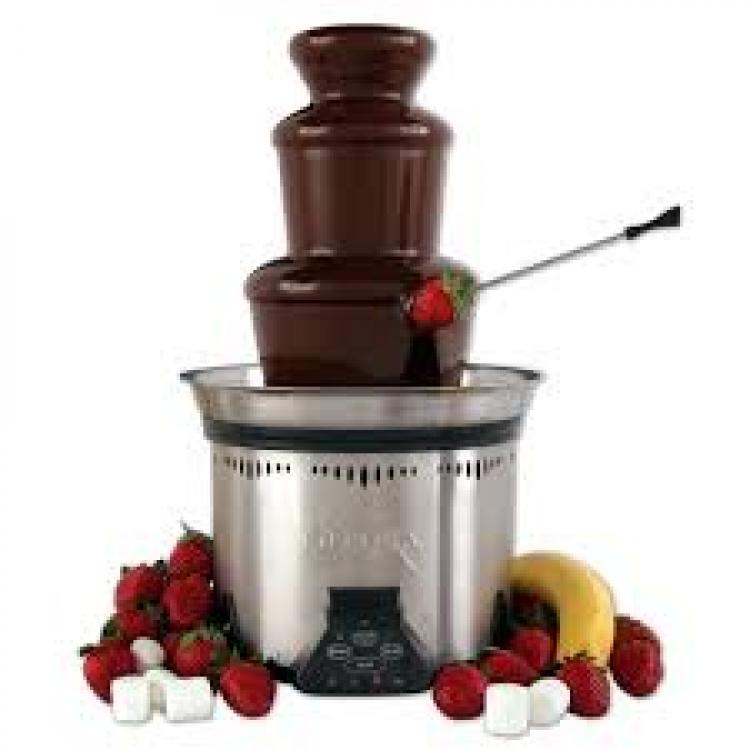 19 Chocolate Fountain