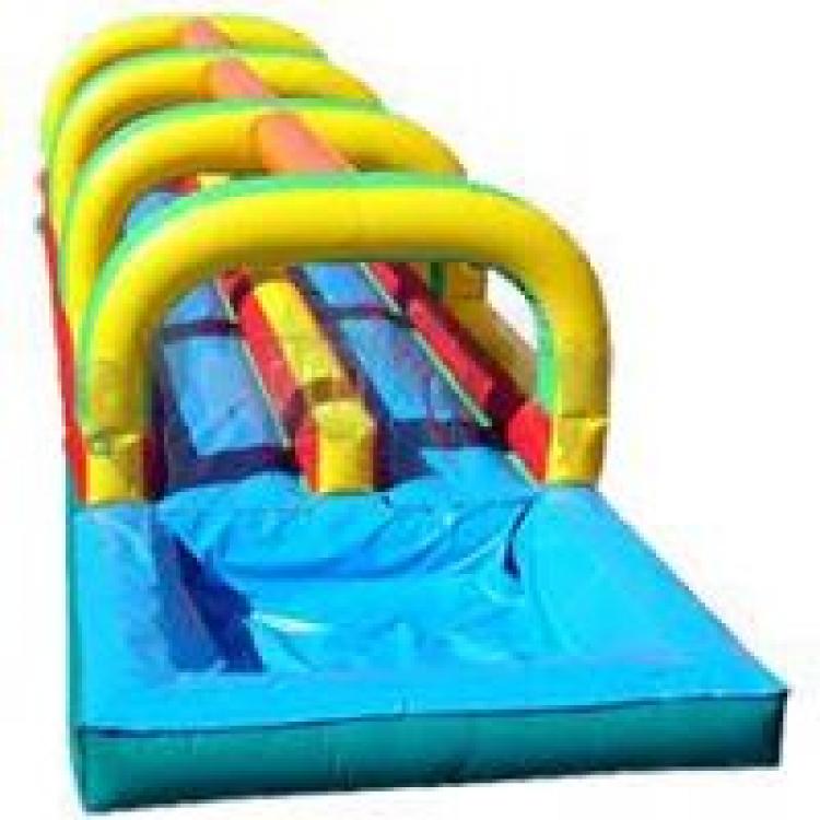40' Double Lane Slip-N-Slide